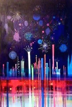 小倉正志個展「都市の表層とファンデーションシリーズ」